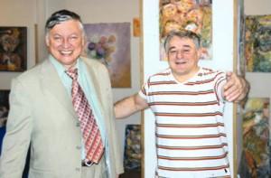 Чемпион мира по шахматам Анатолий Карпов и доктор Хасай Алиев
