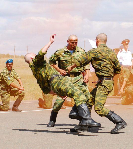 Армейский рукопашный бой ВДВ Ключ