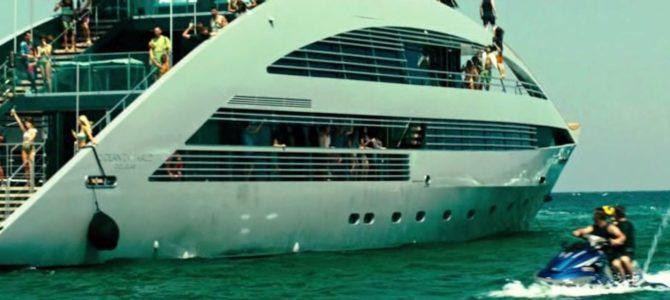 Экстрим отдых на яхте